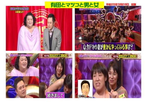 TBSテレビ「有田とマツコと男と女」2013年3月28日放送のサムネイル
