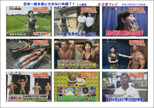 メーテレ「UP!」東海の日本一を特集 2007年8月17日(金)放送